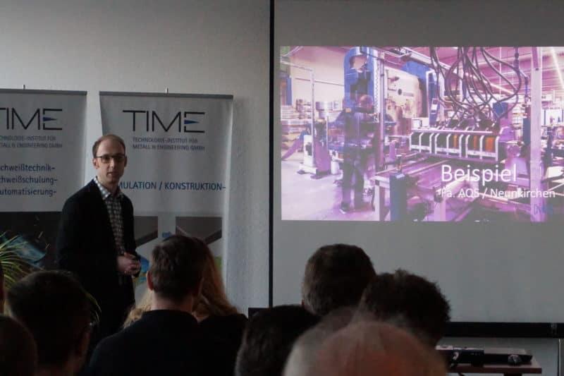 Digitalisierung des Maschinenparks