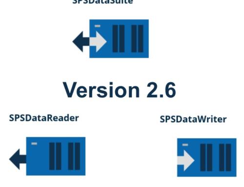 Jetzt neu: Version 2.6 unserer Excel-SPS Software