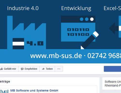 MB Software und Systeme ab sofort auch auf Facebook