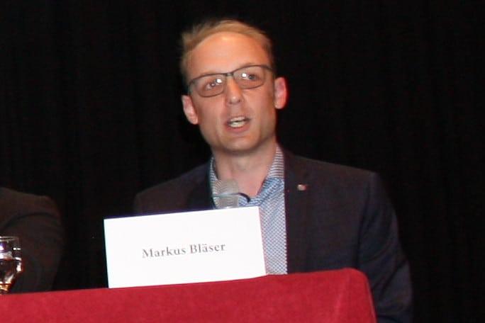 Markus Bläser spricht über Softwareentwicklung in Deutschland