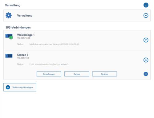 S7 Funktionsbausteine sichern mit unserem SPSDataBackupPro