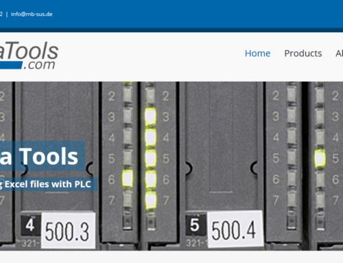 Kennen Sie schon unsere PLC Data Tools