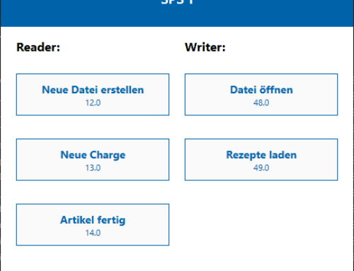 Neu in unserer Excel-SPS Software: Visualisierung für Maschinenbediener