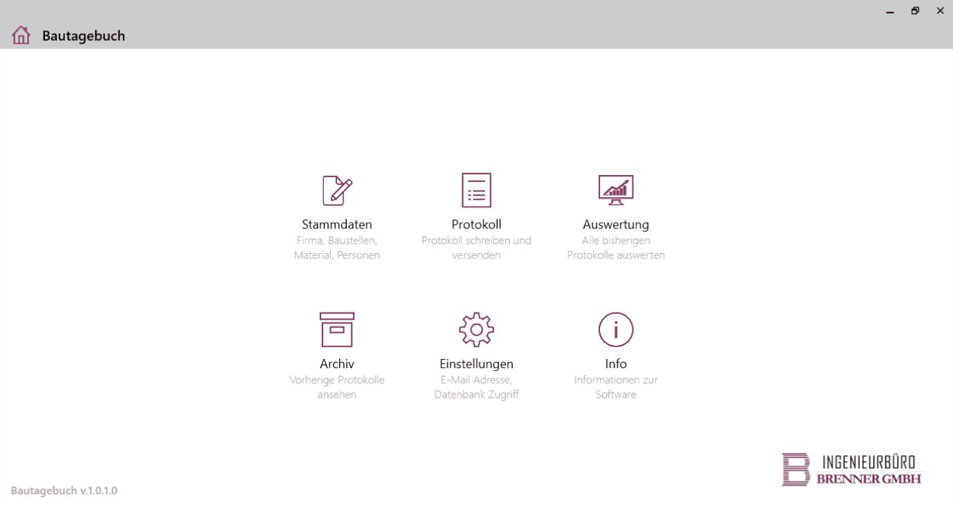 digitales Bautagebuch