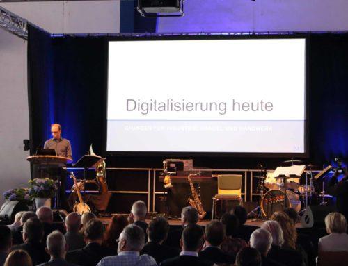 Empfang der Wirtschaft im Kreis Altenkirchen: Markus Bläser referierte über Digitalisierung