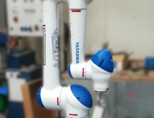 Losgröße 1 wirtschaftlich darstellen dank Cobot – Mensch und Maschine arbeiten Hand in Hand