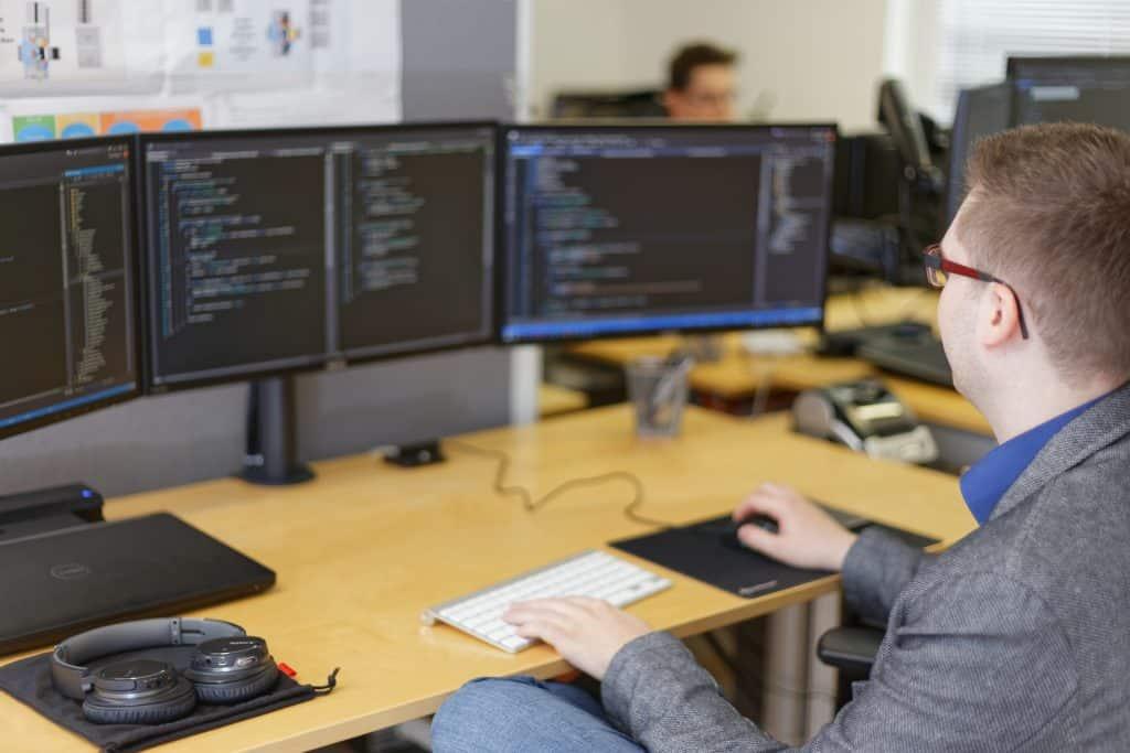 Arbeitsalltag bei MB Software
