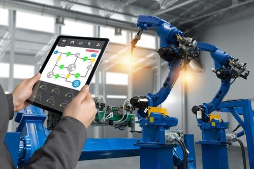 Industrie 4.0 mit Robotern